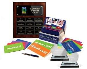 awards program, annual plaque, spot-on kit, 2 prism awards