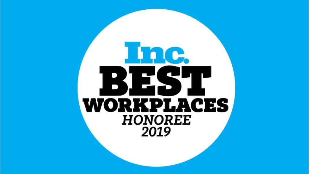 Inc's Best Workplaces of 2019