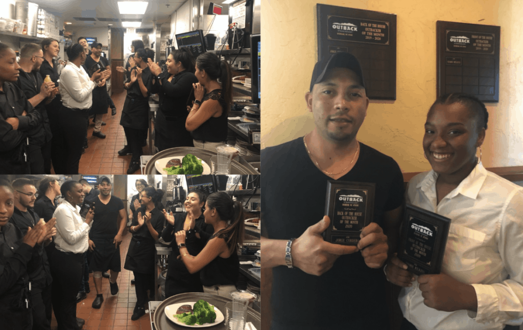 outback outbacker of the month myemployees employee recognition program